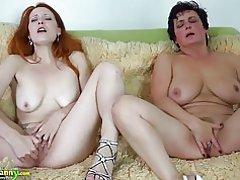 Oldnanny busty bbw эмэгтэй, лесбиян улбар шар үстэй хүн өсвөр